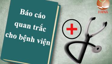 báo cáo công tác bảo vệ môi trường bệnh viện