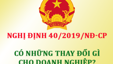 nghị định 40/2019/NĐ-CP