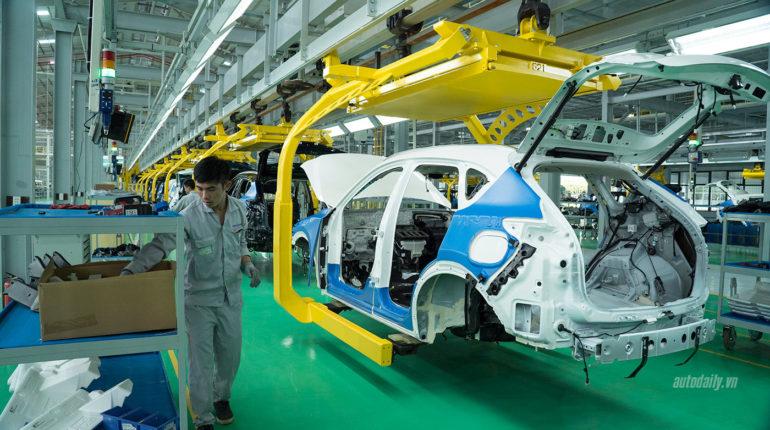 kế hoạch bảo vệ môi trường cơ sở lắp ráp ô tô